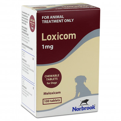 Buy Loxicom Chewable Tablets 1mg For Dogs 100 Tablets